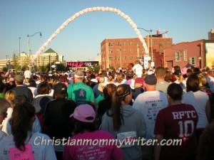 Starting Line at Race for the Cure