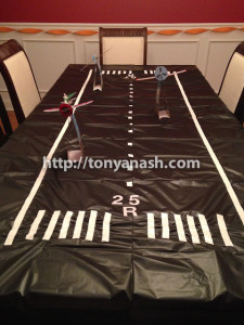 Runway Tablecloth for Disney Planes Birthday Party