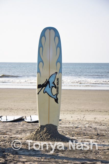 Surfers Healing Surfboard