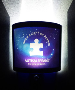 Autism Speaks Nightlight