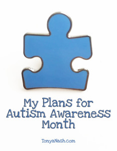 Plans for Autism Awareness Month